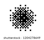 abstract geometric pattern with ... | Shutterstock .eps vector #1204278649