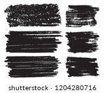 vector grunge banners.grunge... | Shutterstock .eps vector #1204280716