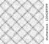 grid pattern with spray lines.... | Shutterstock .eps vector #1204289599