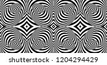 pattern with optical illusion.... | Shutterstock .eps vector #1204294429