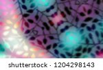 leaves abstract bokeh background | Shutterstock . vector #1204298143