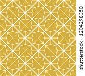 art deco seamless background. | Shutterstock .eps vector #1204298350