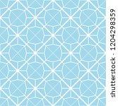 art deco seamless background. | Shutterstock .eps vector #1204298359