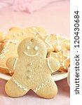 gingerbread man | Shutterstock . vector #120430684