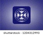 crossed bandage plaster icon... | Shutterstock .eps vector #1204312993