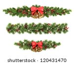 christmas borders from the... | Shutterstock . vector #120431470