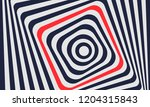 line wave pattern. opt art... | Shutterstock .eps vector #1204315843