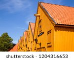 stavern  norway   july 20  2018 ... | Shutterstock . vector #1204316653