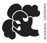 broccoli icon. simple... | Shutterstock .eps vector #1204332403
