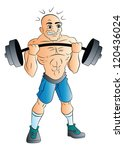 active,activity,art,artwork,athlete,athletic,bald,barbell,body,drawing,exercise,fitness,healthy,heavy,heavyweight