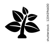 tree leaf plant icon   vector... | Shutterstock .eps vector #1204396600