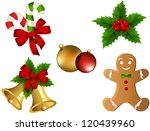 christmas icons | Shutterstock .eps vector #120439960