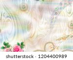 colorful multi effect textile... | Shutterstock . vector #1204400989
