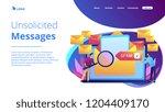 businessmen get advertising ... | Shutterstock .eps vector #1204409170