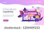 it specialist identify user... | Shutterstock .eps vector #1204409233