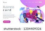 designers work on new brand and ... | Shutterstock .eps vector #1204409326