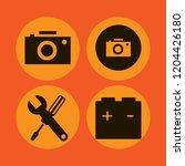 manual icon. manual vector... | Shutterstock .eps vector #1204426180
