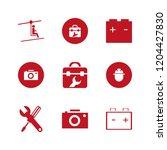 manual icon. manual vector... | Shutterstock .eps vector #1204427830