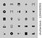 purchase icon. purchase vector... | Shutterstock .eps vector #1204430503