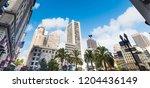 union square in san... | Shutterstock . vector #1204436149
