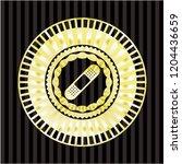 bandage plaster icon inside... | Shutterstock .eps vector #1204436659