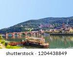 heidelberg castle  ...   Shutterstock . vector #1204438849