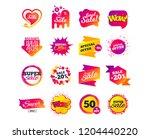 sale banner templates design.... | Shutterstock .eps vector #1204440220