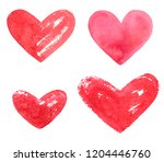set  collection of various hand ...   Shutterstock . vector #1204446760