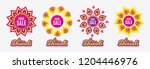 diwali sales banners. huge sale.... | Shutterstock .eps vector #1204446976