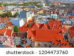 view of old town in riga  latvia | Shutterstock . vector #1204473760
