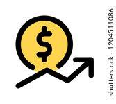inconsistent dollar value | Shutterstock .eps vector #1204511086