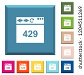 browser 429 too many requests... | Shutterstock .eps vector #1204511269