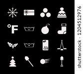 winter icon. winter vector...   Shutterstock .eps vector #1204512976