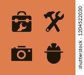manual icon. manual vector... | Shutterstock .eps vector #1204522030