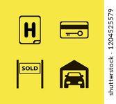 entrance icon. entrance vector... | Shutterstock .eps vector #1204525579