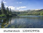Twin Lakes, Mammoth Lakes, Yosemite, California.