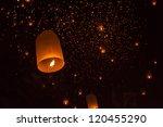 Sky Lanterns Festival Thailand...