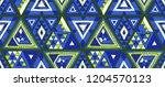 indian geometric folklore... | Shutterstock .eps vector #1204570123
