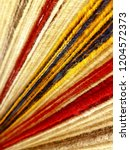 handcrafted colorful wool... | Shutterstock . vector #1204572373