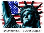 The American Liberty Statue...