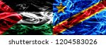 palestine vs democratic... | Shutterstock . vector #1204583026