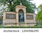 berlin  germany   july 13  2018 ... | Shutterstock . vector #1204586290