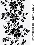abstract vertical flower... | Shutterstock .eps vector #120461230