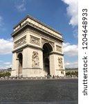 arc de triomphe   Shutterstock . vector #1204648933