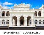 National Museum of Colombo, Sri Lanka. Sri Lanka National Museum is the largest museum in Sri Lanka.