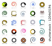 design elements set. abstract... | Shutterstock .eps vector #120465196