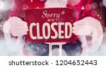 Digital composite of sorry we...