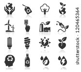 ecology icons set3. vector... | Shutterstock .eps vector #120465364