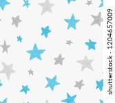 vector kids pattern with doodle ... | Shutterstock .eps vector #1204657009