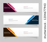 vector abstract design banner... | Shutterstock .eps vector #1204677943